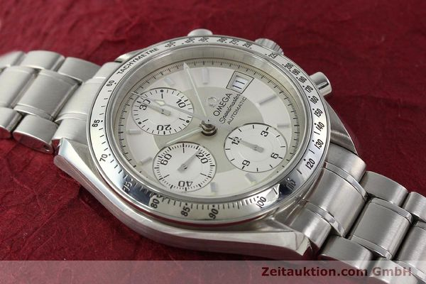 Used luxury watch Omega Speedmaster chronograph steel automatic Kal. 1152 Ref. 35133000  | 142256 16