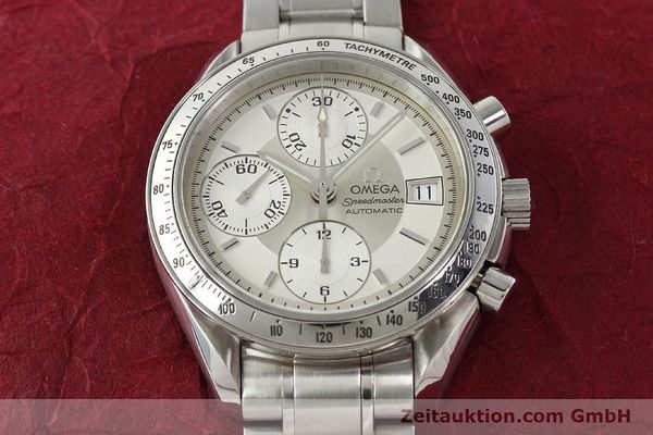Used luxury watch Omega Speedmaster chronograph steel automatic Kal. 1152 Ref. 35133000  | 142256 17