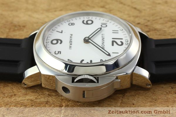 Used luxury watch Panerai Luminor  steel manual winding Kal. ETA B99501 Ref. OP6726  | 142259 05