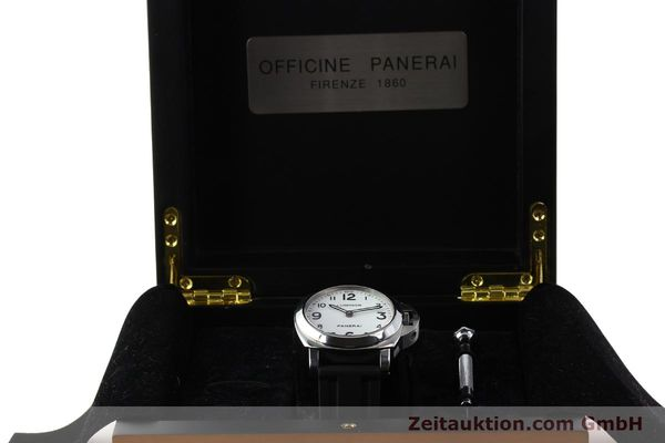 Used luxury watch Panerai Luminor  steel manual winding Kal. ETA B99501 Ref. OP6726  | 142259 07