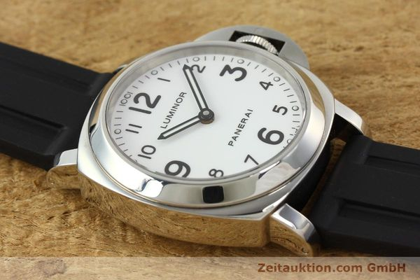 Used luxury watch Panerai Luminor  steel manual winding Kal. ETA B99501 Ref. OP6726  | 142259 15