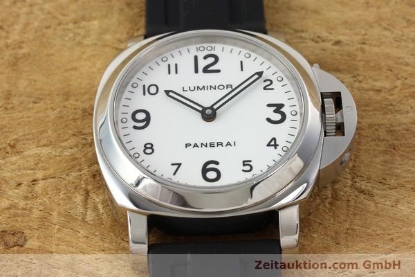 Used luxury watch Panerai Luminor  steel manual winding Kal. ETA B99501 Ref. OP6726  | 142259 16