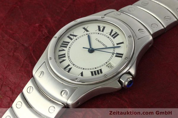 Used luxury watch Cartier Cougar steel automatic Kal. 049 ETA 2892A2  | 142260 01