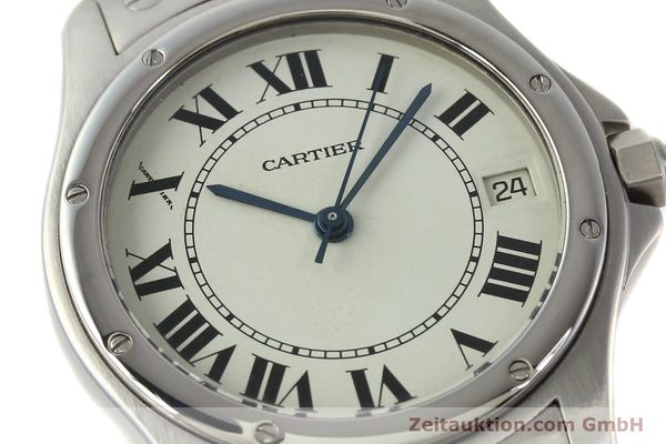 Used luxury watch Cartier Cougar steel automatic Kal. 049 ETA 2892A2  | 142260 02