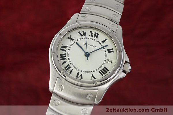 Used luxury watch Cartier Cougar steel automatic Kal. 049 ETA 2892A2  | 142260 04