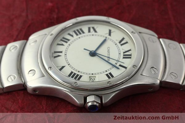 Used luxury watch Cartier Cougar steel automatic Kal. 049 ETA 2892A2  | 142260 05