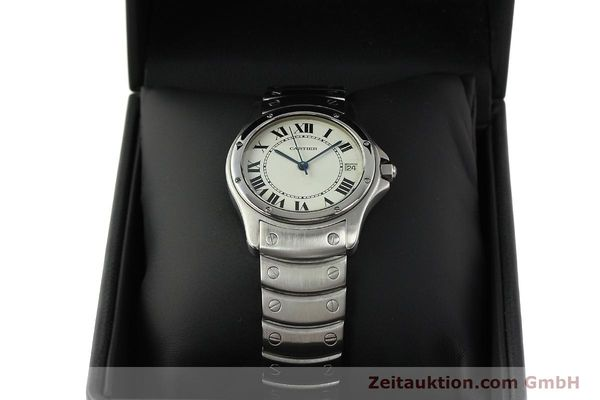 Used luxury watch Cartier Cougar steel automatic Kal. 049 ETA 2892A2  | 142260 07