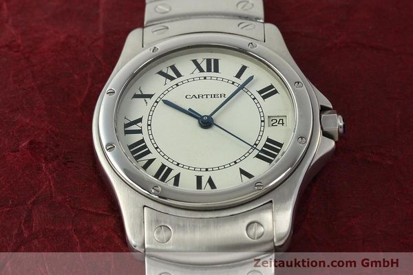 Used luxury watch Cartier Cougar steel automatic Kal. 049 ETA 2892A2  | 142260 15