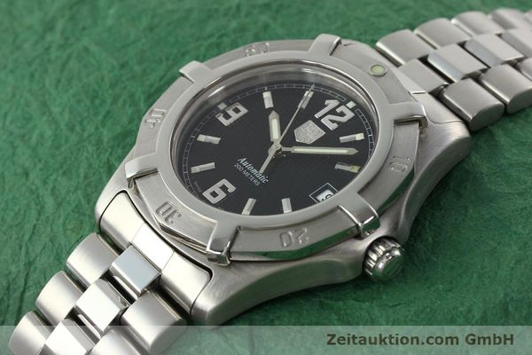 Used luxury watch Tag Heuer Professional steel automatic Kal. ETA 2824-2 Ref. WN2111  | 142262 01