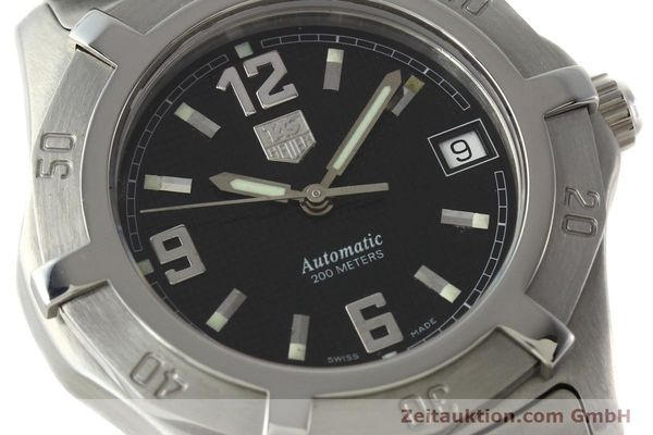 Used luxury watch Tag Heuer Professional steel automatic Kal. ETA 2824-2 Ref. WN2111  | 142262 02