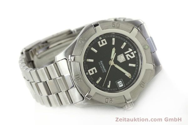 Used luxury watch Tag Heuer Professional steel automatic Kal. ETA 2824-2 Ref. WN2111  | 142262 03