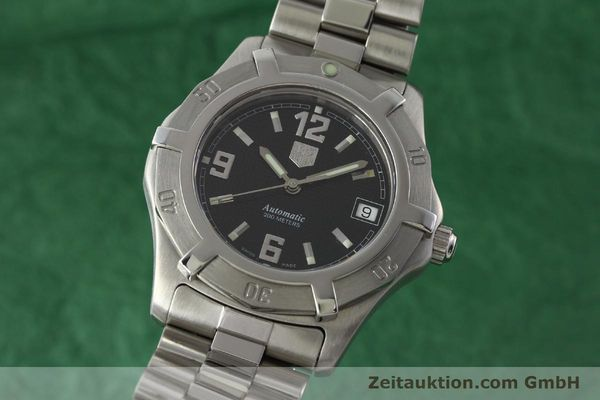 Used luxury watch Tag Heuer Professional steel automatic Kal. ETA 2824-2 Ref. WN2111  | 142262 04