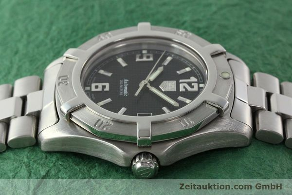 Used luxury watch Tag Heuer Professional steel automatic Kal. ETA 2824-2 Ref. WN2111  | 142262 05