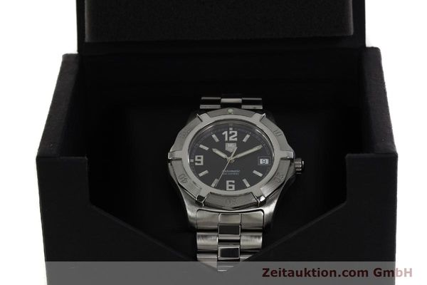 Used luxury watch Tag Heuer Professional steel automatic Kal. ETA 2824-2 Ref. WN2111  | 142262 07