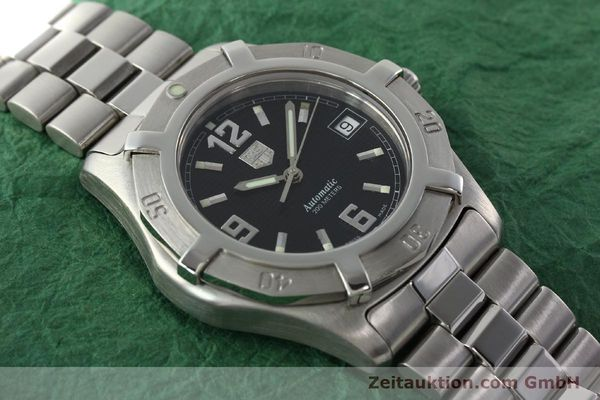 Used luxury watch Tag Heuer Professional steel automatic Kal. ETA 2824-2 Ref. WN2111  | 142262 14