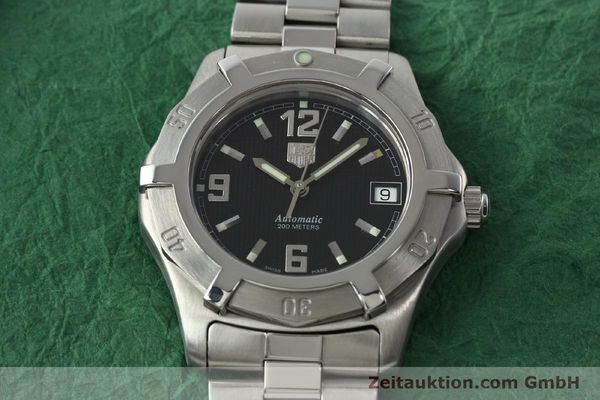 Used luxury watch Tag Heuer Professional steel automatic Kal. ETA 2824-2 Ref. WN2111  | 142262 15
