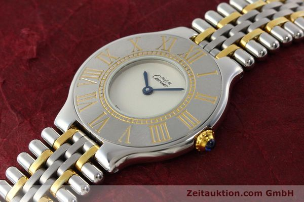 Used luxury watch Cartier Ligne 21 gilt steel quartz Kal. 90  | 142267 01