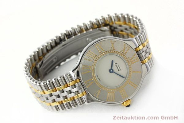 Used luxury watch Cartier Ligne 21 gilt steel quartz Kal. 90  | 142267 03