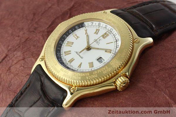 Used luxury watch Ebel Voyager 18 ct gold automatic Kal. 124 ETA 2892-2 Ref. 8124913  | 142268 01
