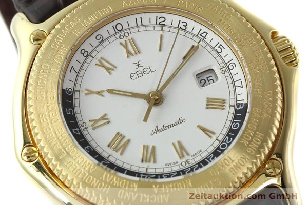 Used luxury watch Ebel Voyager 18 ct gold automatic Kal. 124 ETA 2892-2 Ref. 8124913  | 142268 02