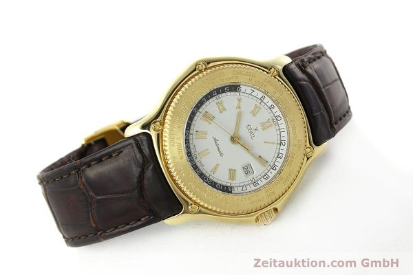 Used luxury watch Ebel Voyager 18 ct gold automatic Kal. 124 ETA 2892-2 Ref. 8124913  | 142268 03