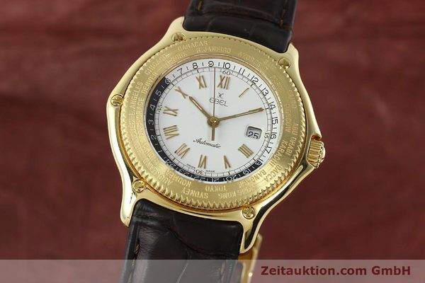 Used luxury watch Ebel Voyager 18 ct gold automatic Kal. 124 ETA 2892-2 Ref. 8124913  | 142268 04