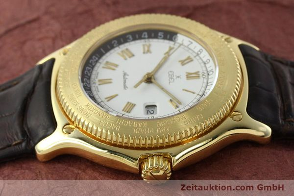 Used luxury watch Ebel Voyager 18 ct gold automatic Kal. 124 ETA 2892-2 Ref. 8124913  | 142268 05