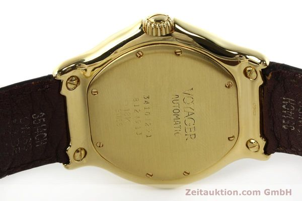 Used luxury watch Ebel Voyager 18 ct gold automatic Kal. 124 ETA 2892-2 Ref. 8124913  | 142268 08