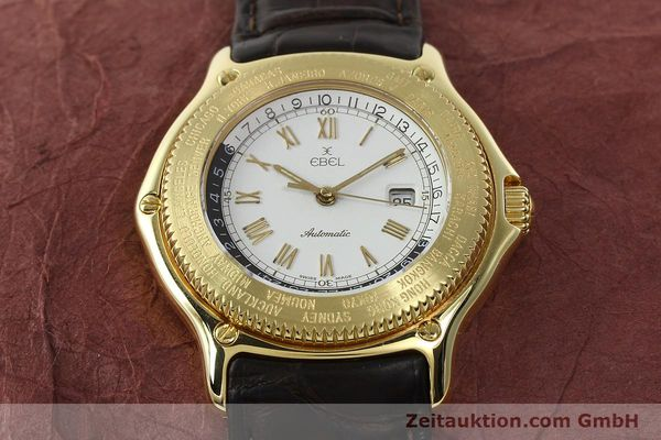 Used luxury watch Ebel Voyager 18 ct gold automatic Kal. 124 ETA 2892-2 Ref. 8124913  | 142268 16