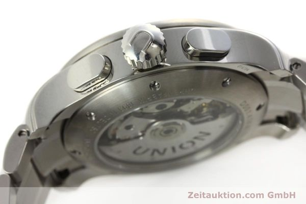 Used luxury watch Union Glashütte Viro chronograph steel automatic Kal. U7750 Ref. D001.414A  | 142270 11