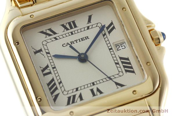 gebrauchte Luxusuhr Cartier Panthere 18k Gold Quarz Kal. 87  | 142272 02