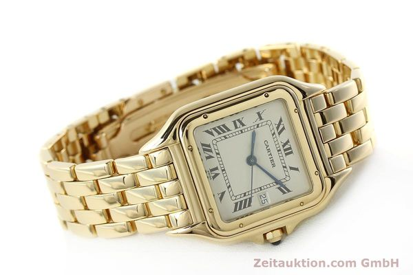 gebrauchte Luxusuhr Cartier Panthere 18k Gold Quarz Kal. 87  | 142272 03