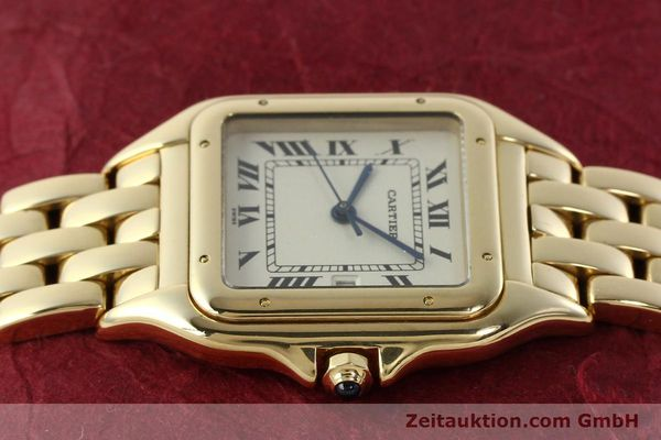gebrauchte Luxusuhr Cartier Panthere 18k Gold Quarz Kal. 87  | 142272 05