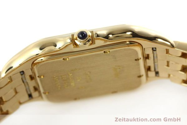 gebrauchte Luxusuhr Cartier Panthere 18k Gold Quarz Kal. 87  | 142272 08