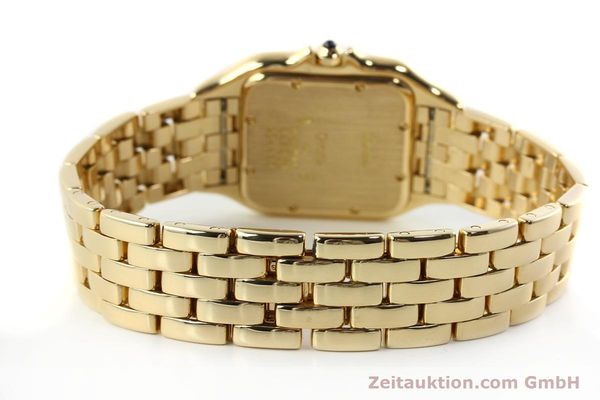 gebrauchte Luxusuhr Cartier Panthere 18k Gold Quarz Kal. 87  | 142272 10