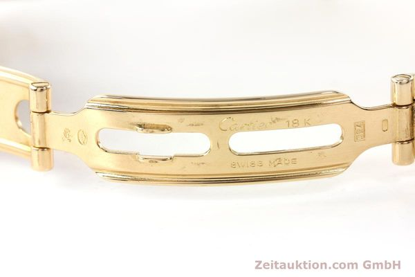 gebrauchte Luxusuhr Cartier Panthere 18k Gold Quarz Kal. 87  | 142272 11