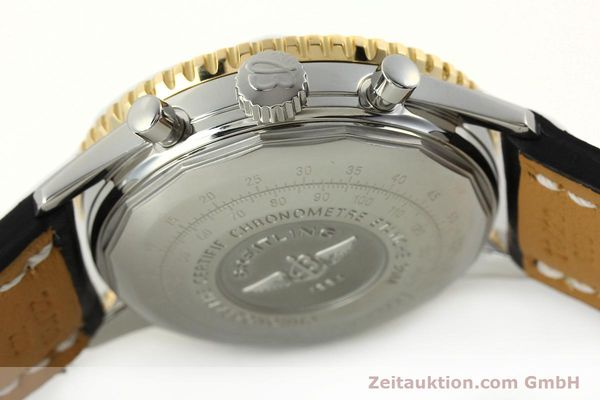 Used luxury watch Breitling Navitimer chronograph steel / gold automatic Kal. B13 ETA 7750 Ref. D13322  | 142274 12