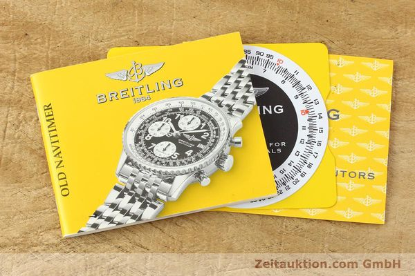 Used luxury watch Breitling Navitimer chronograph steel / gold automatic Kal. B13 ETA 7750 Ref. D13322  | 142274 14