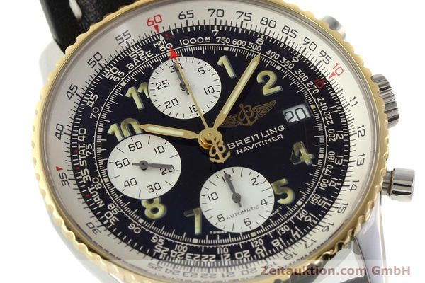 Used luxury watch Breitling Navitimer chronograph steel / gold automatic Kal. B13 ETA 7750 Ref. D13022  | 142275 02