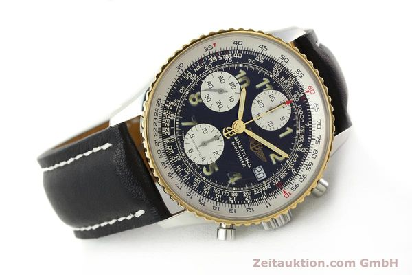 Used luxury watch Breitling Navitimer chronograph steel / gold automatic Kal. B13 ETA 7750 Ref. D13022  | 142275 03