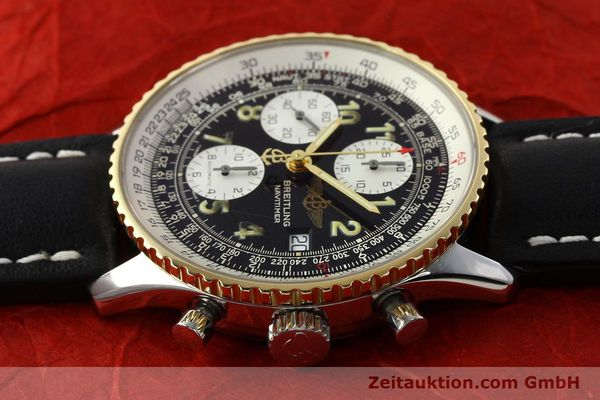 Used luxury watch Breitling Navitimer chronograph steel / gold automatic Kal. B13 ETA 7750 Ref. D13022  | 142275 05