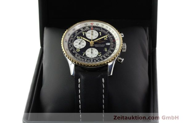 Used luxury watch Breitling Navitimer chronograph steel / gold automatic Kal. B13 ETA 7750 Ref. D13022  | 142275 07