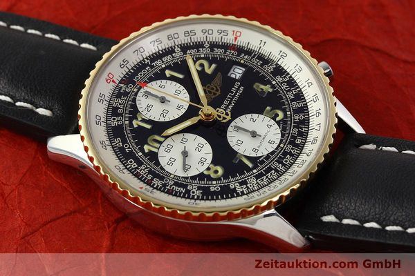 Used luxury watch Breitling Navitimer chronograph steel / gold automatic Kal. B13 ETA 7750 Ref. D13022  | 142275 13