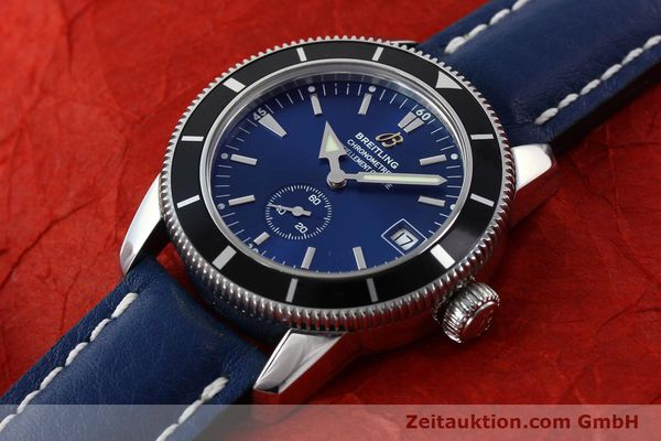 Used luxury watch Breitling Superocean steel automatic Kal. B37 ETA 2895-2 Ref. A37320  | 142277 01