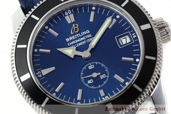Used luxury watch Breitling Superocean steel automatic Kal. B37 ETA 2895-2 Ref. A37320  | 142277 02