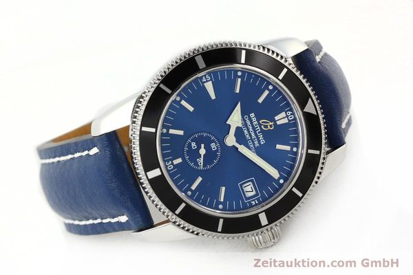 Used luxury watch Breitling Superocean steel automatic Kal. B37 ETA 2895-2 Ref. A37320  | 142277 03