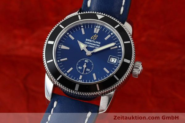 Used luxury watch Breitling Superocean steel automatic Kal. B37 ETA 2895-2 Ref. A37320  | 142277 04