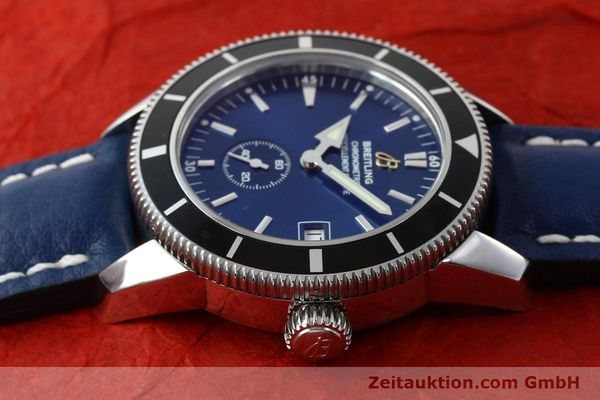 Used luxury watch Breitling Superocean steel automatic Kal. B37 ETA 2895-2 Ref. A37320  | 142277 05