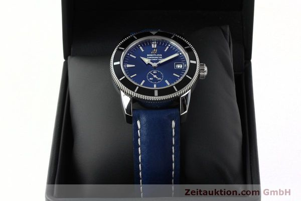 Used luxury watch Breitling Superocean steel automatic Kal. B37 ETA 2895-2 Ref. A37320  | 142277 07