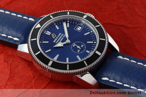 Used luxury watch Breitling Superocean steel automatic Kal. B37 ETA 2895-2 Ref. A37320  | 142277 13